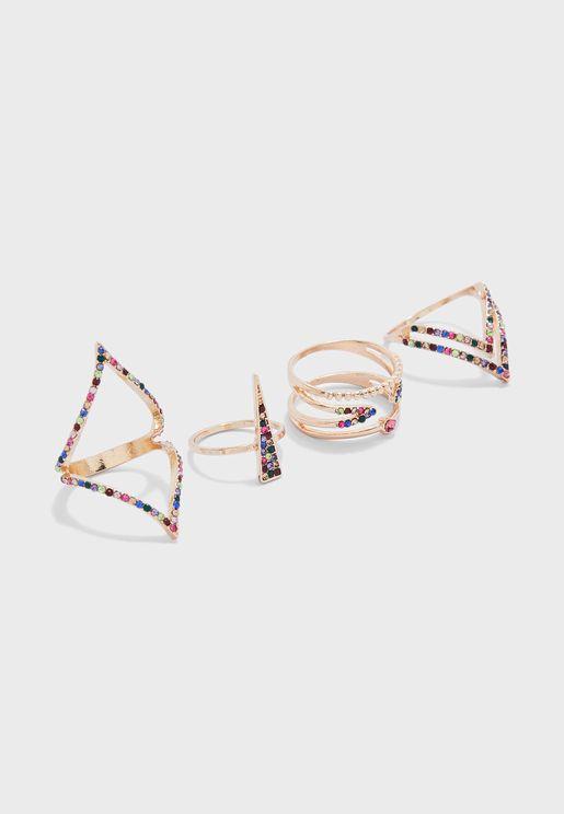 Multipack Masogelato Rings