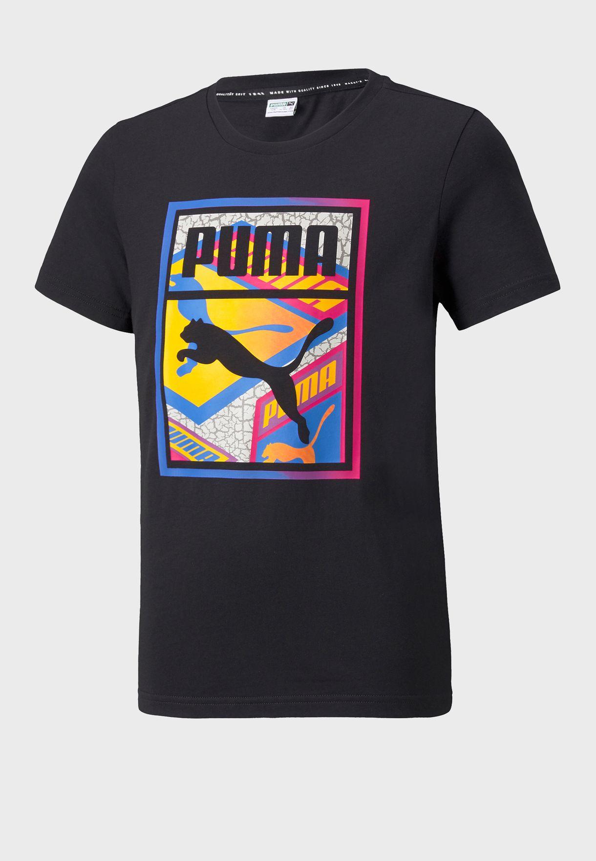 Youth Street Art Graphic T-Shirt