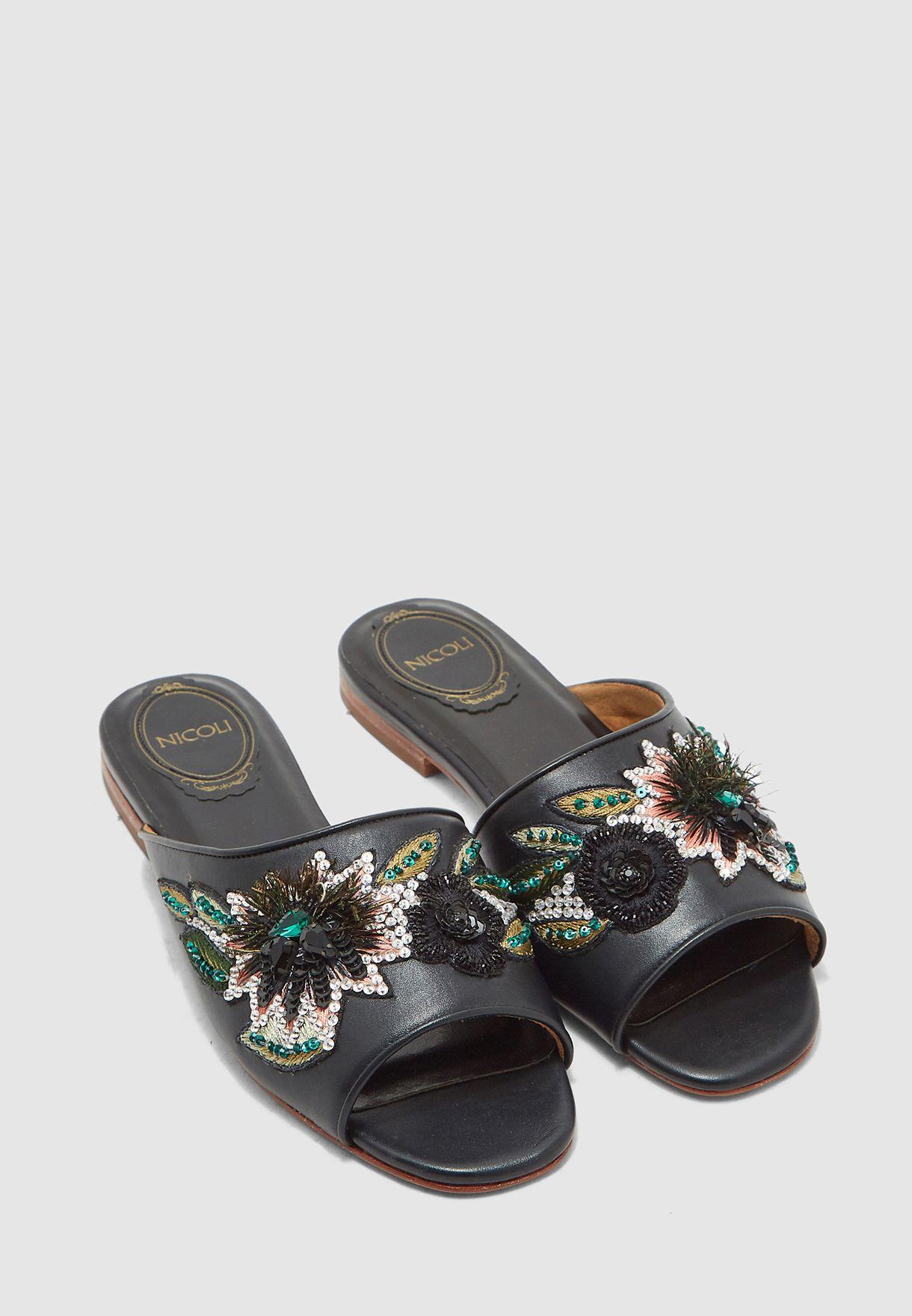 Fabrizia Flat Sandal