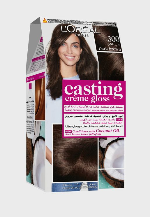 Casting Crème Gloss Hair Color Dark Brown