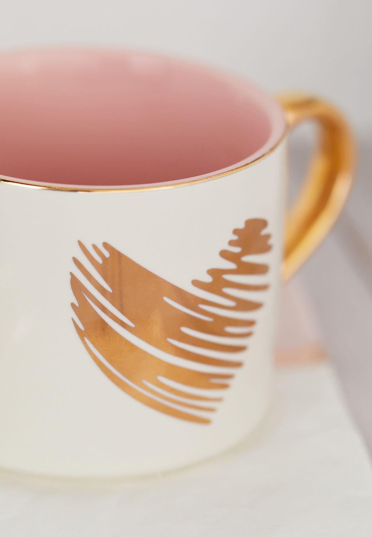 Heart Print Mug