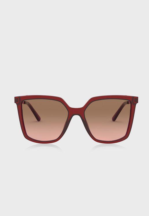 0Ty7146 Oversized Sunglasses