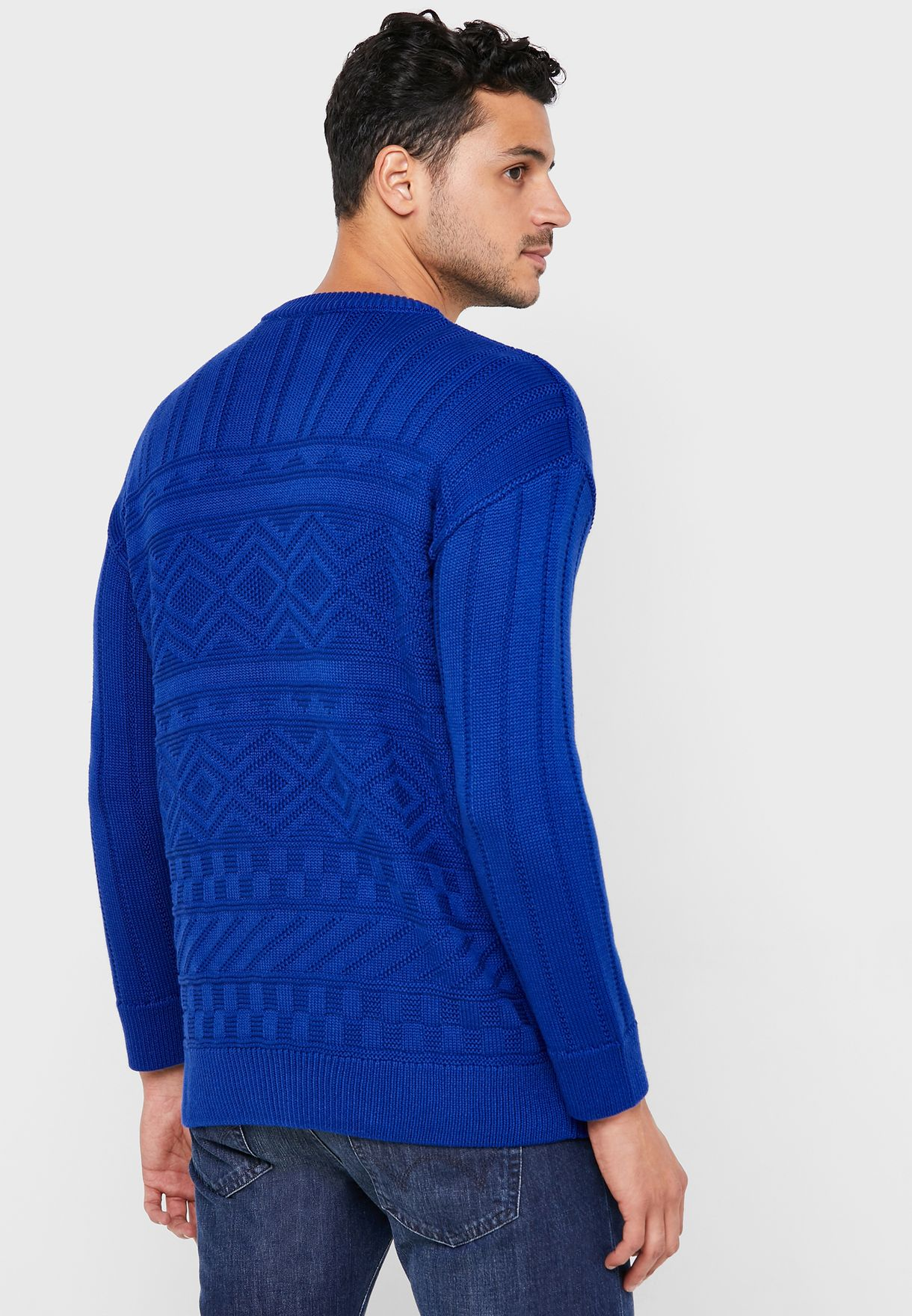 New York Cable Knit Sweater