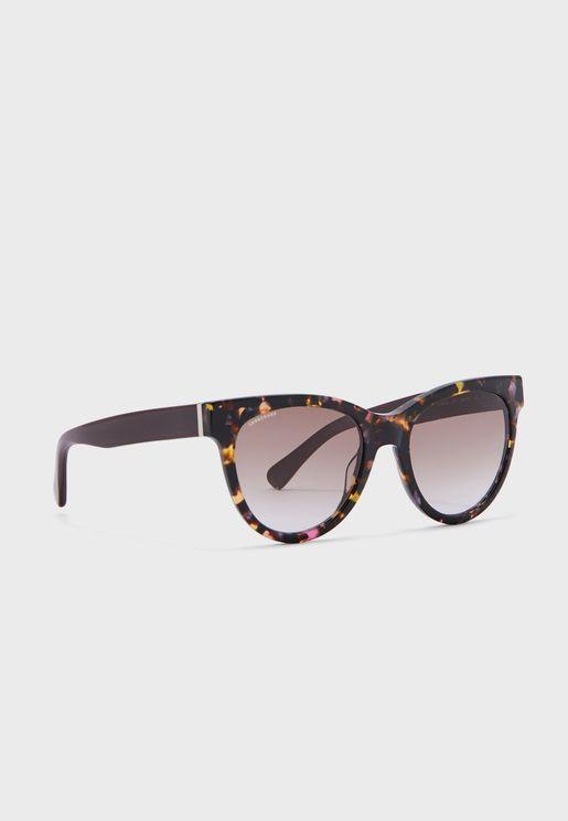 Lo602S Hexagon Sunglasses