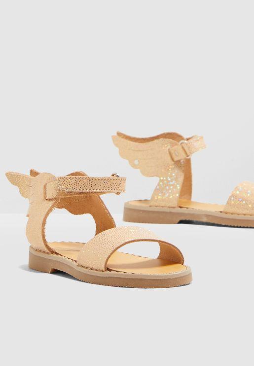 Kids Winged Sandal
