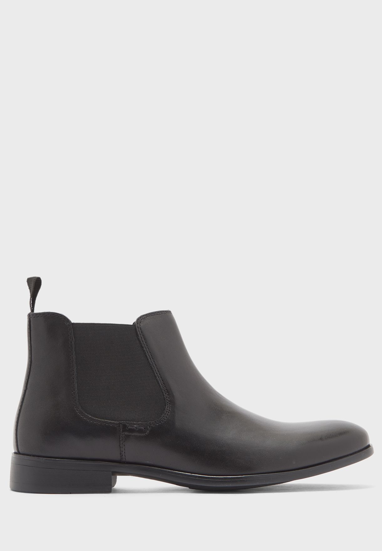 Genuine Leather Chelsea Boots