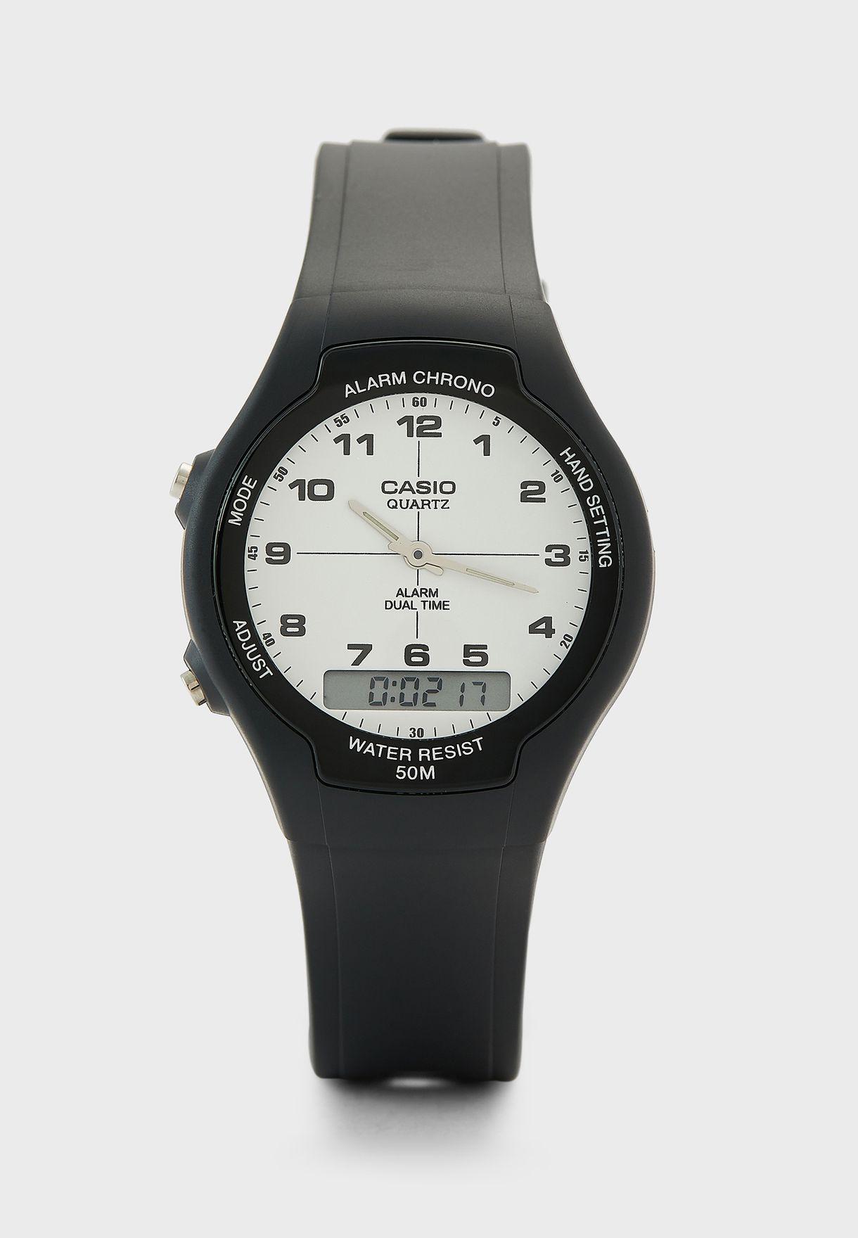 Dual Time Analog Watch