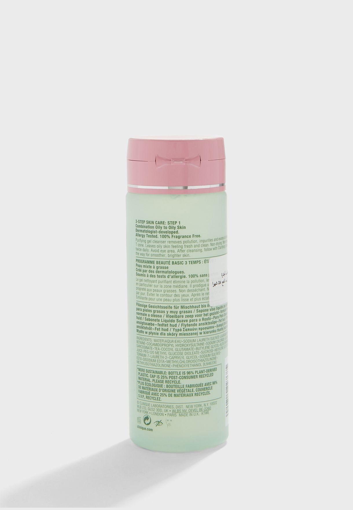صابون وجه سائل - تركيبة للبشرة الدهنية