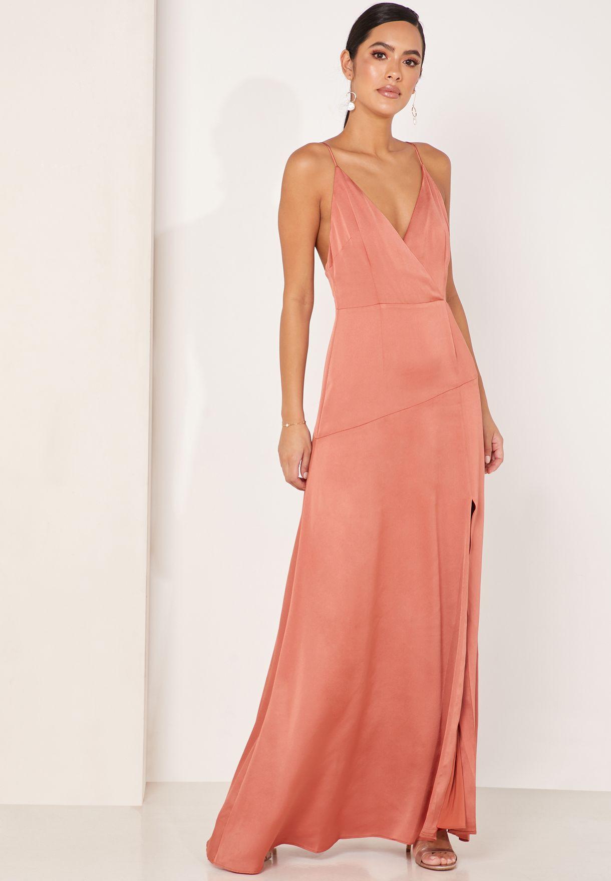 Vienna Side Split Gown