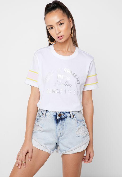 84bd2e2c8 Fila T-shirts for Women | Online Shopping at Namshi UAE