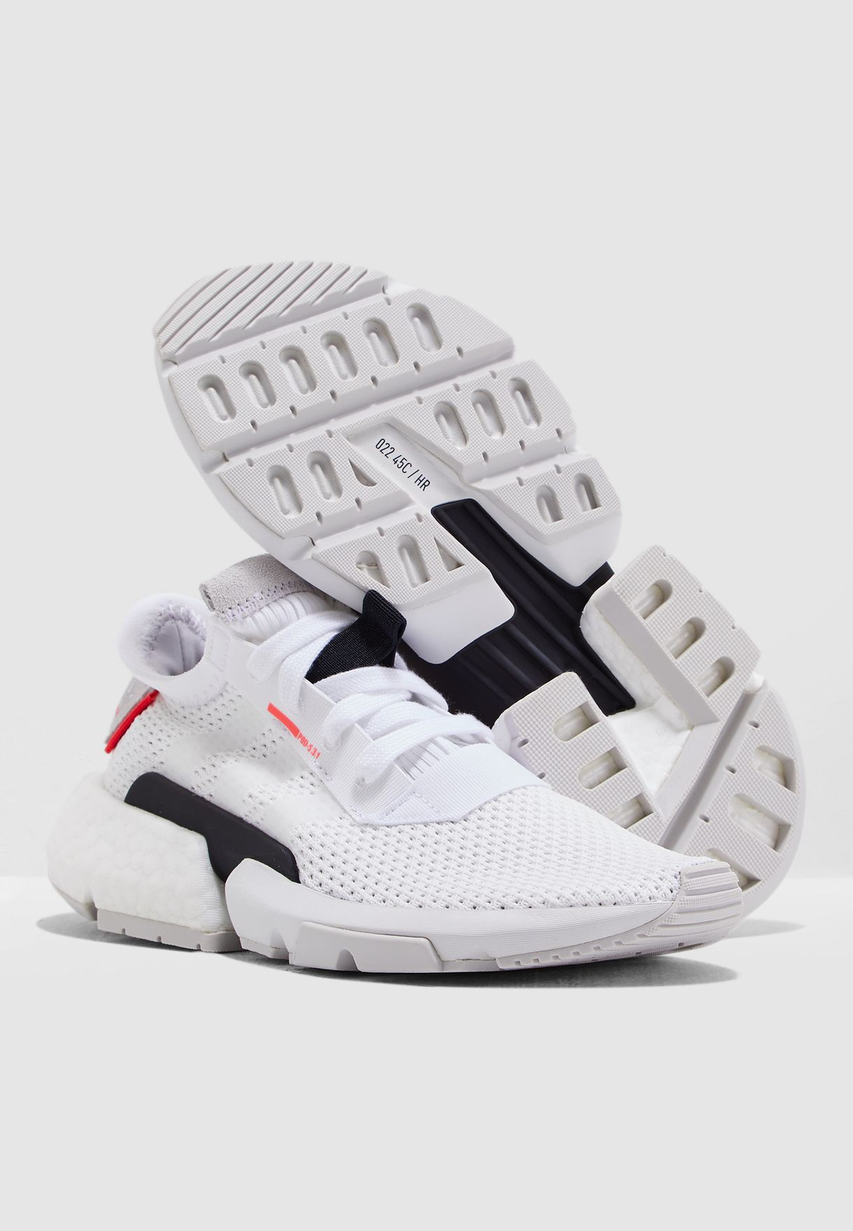 Buy adidas Originals white Youth POD-S3