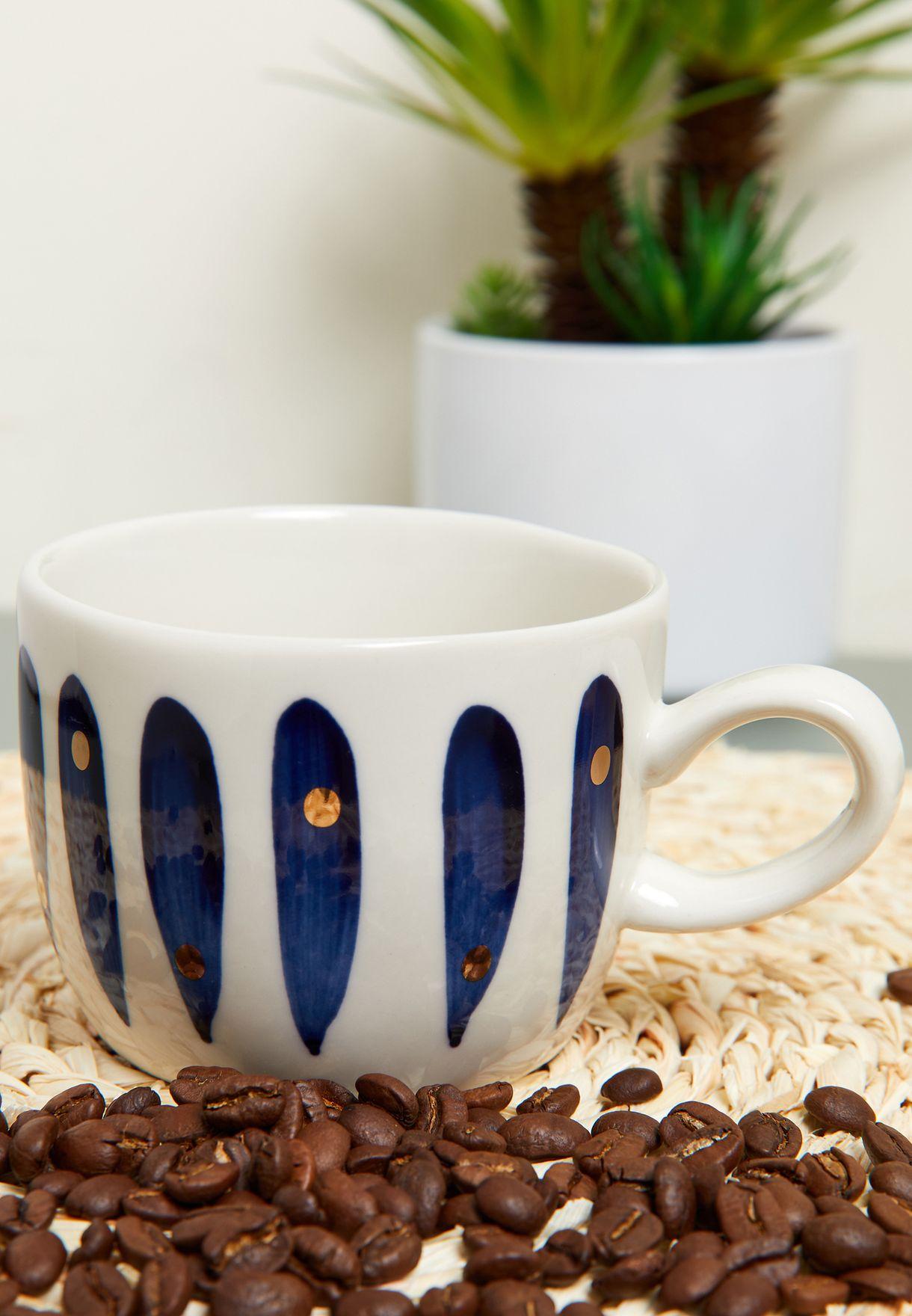 Blue Pattern Mug