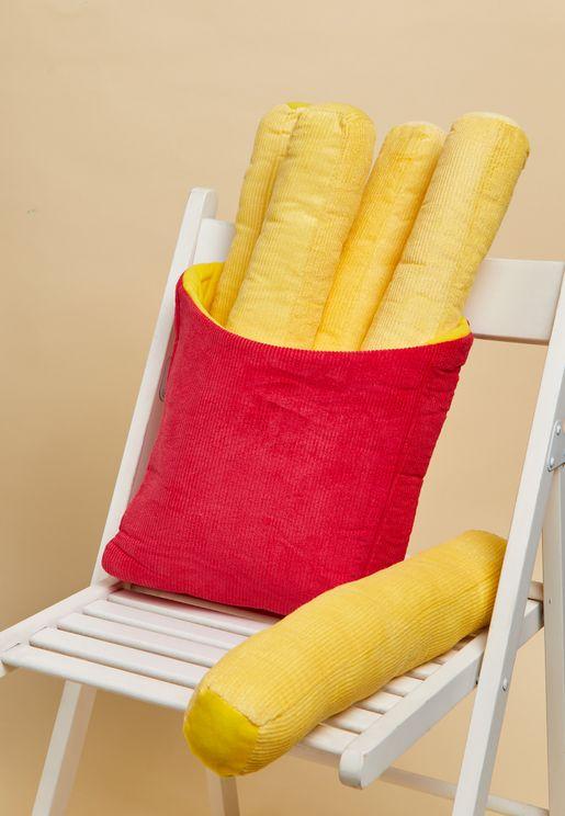 French Fries Get Cushy Cushion
