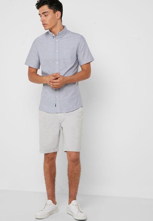 Basic Chino Shorts