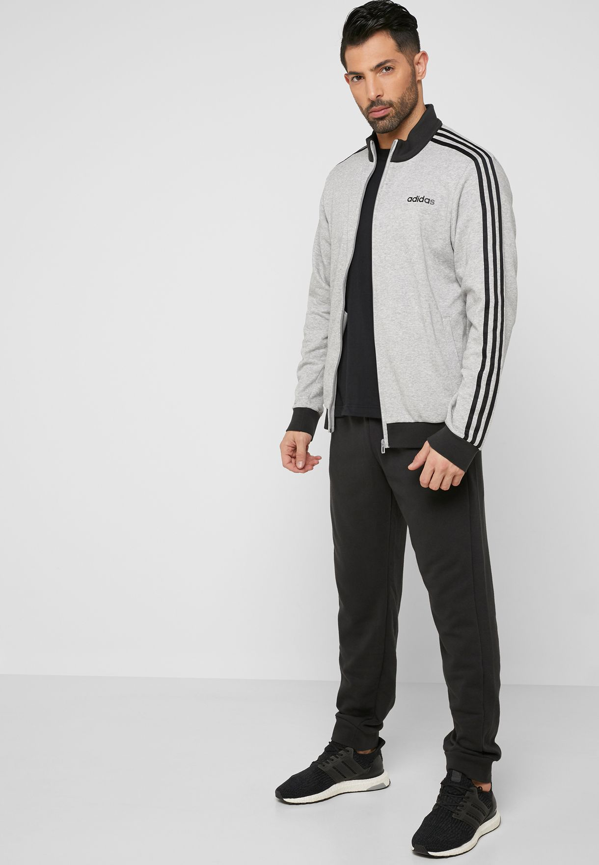 8c2cf15d9 Shop adidas grey MTS Relax Tracksuit DV2444 for Men in UAE ...