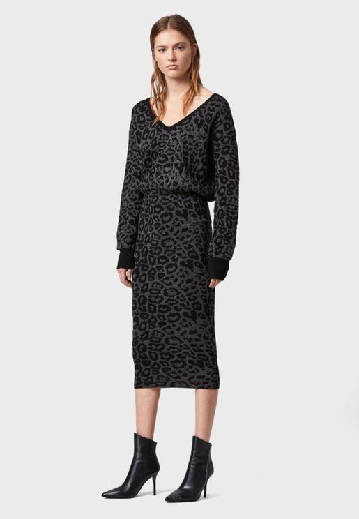 Roxanne Printed Dress
