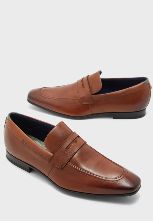 Galle Penny Loafers