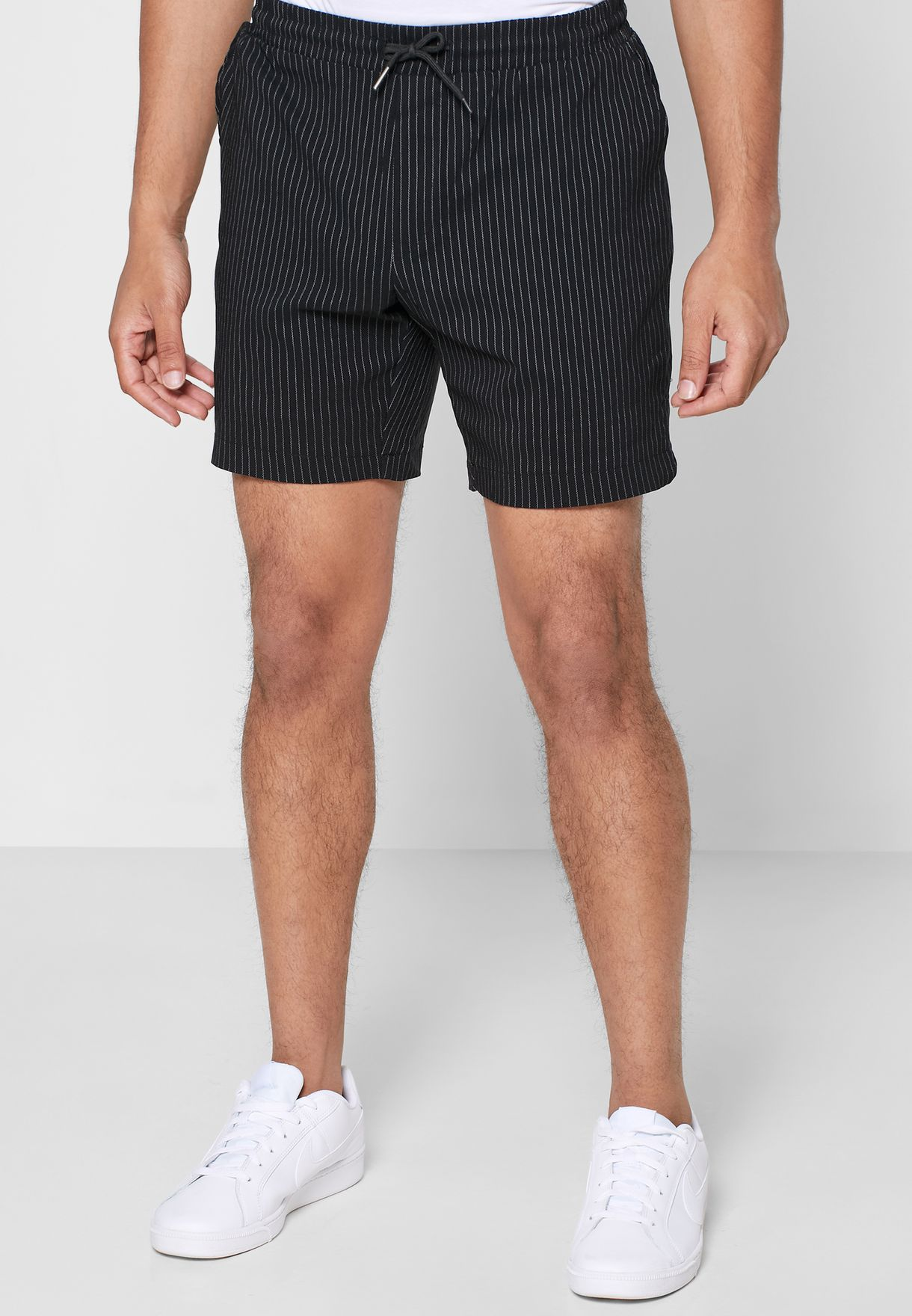 Pin Striped Shorts