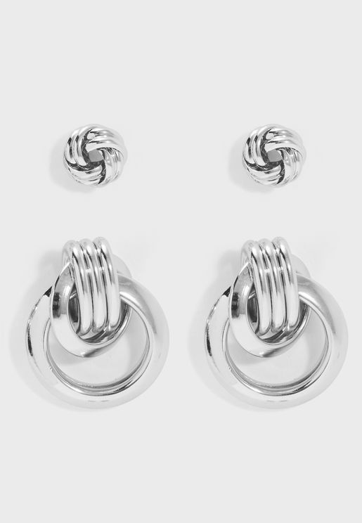 2 Pack Celeste Earrings