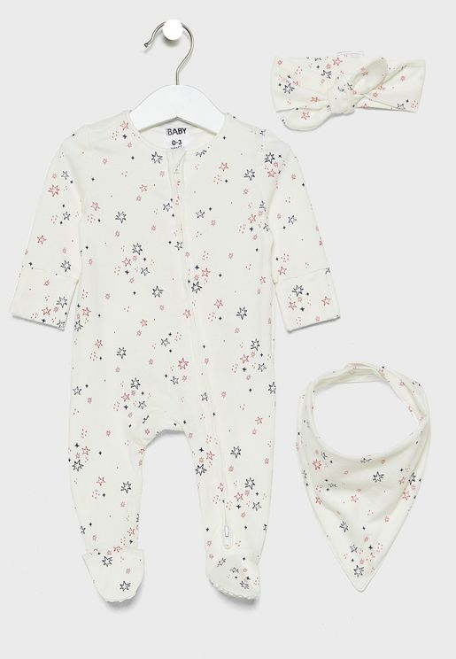 Infant 3 Piece Galaxy Gift Set