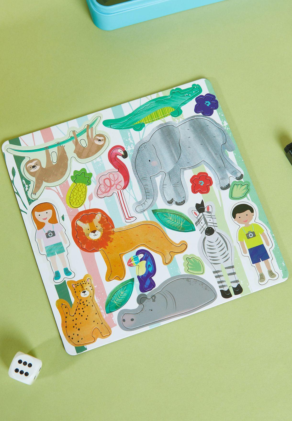 Jungle Magnetic Fun & Games