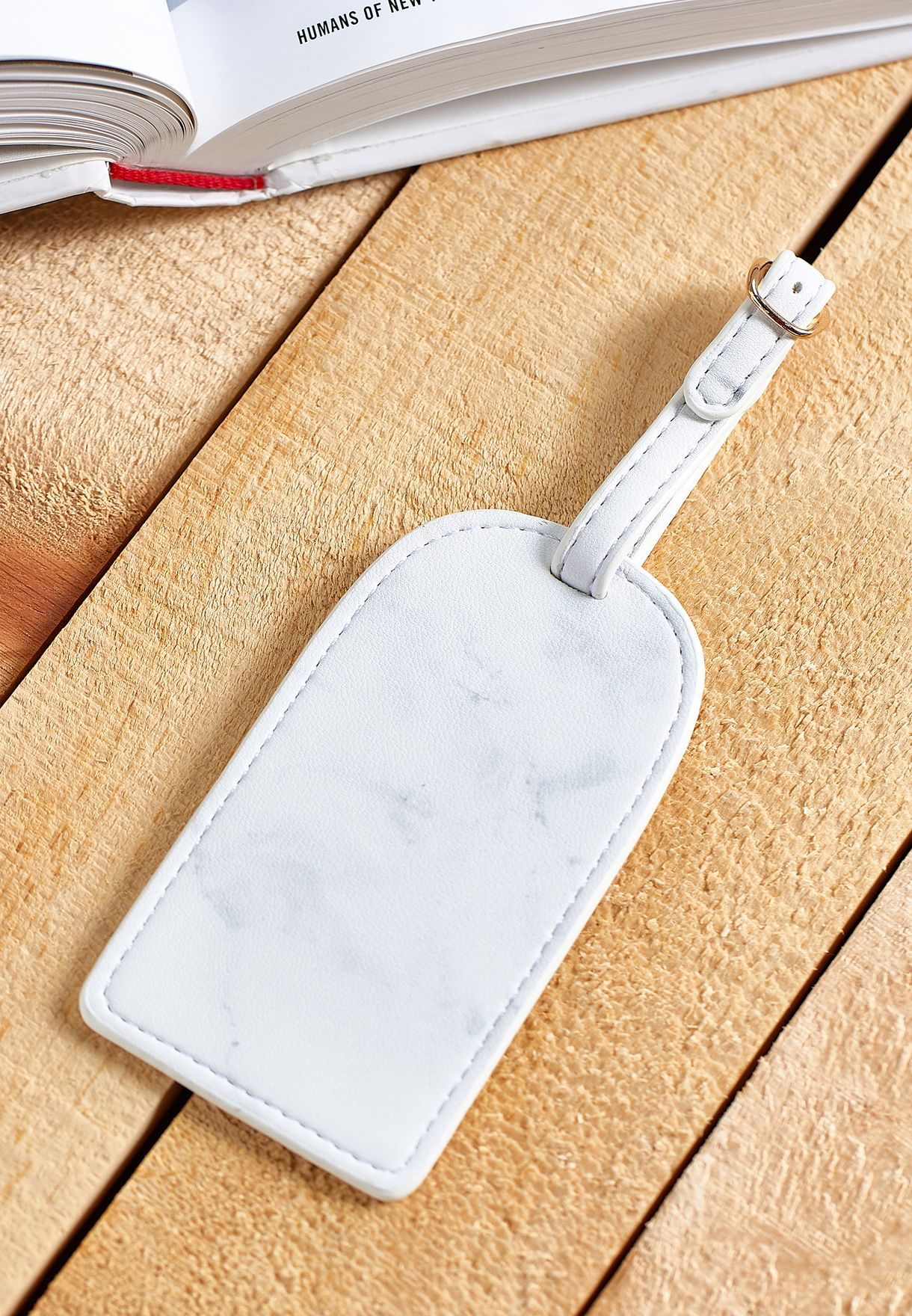 Marble Luggage Tag