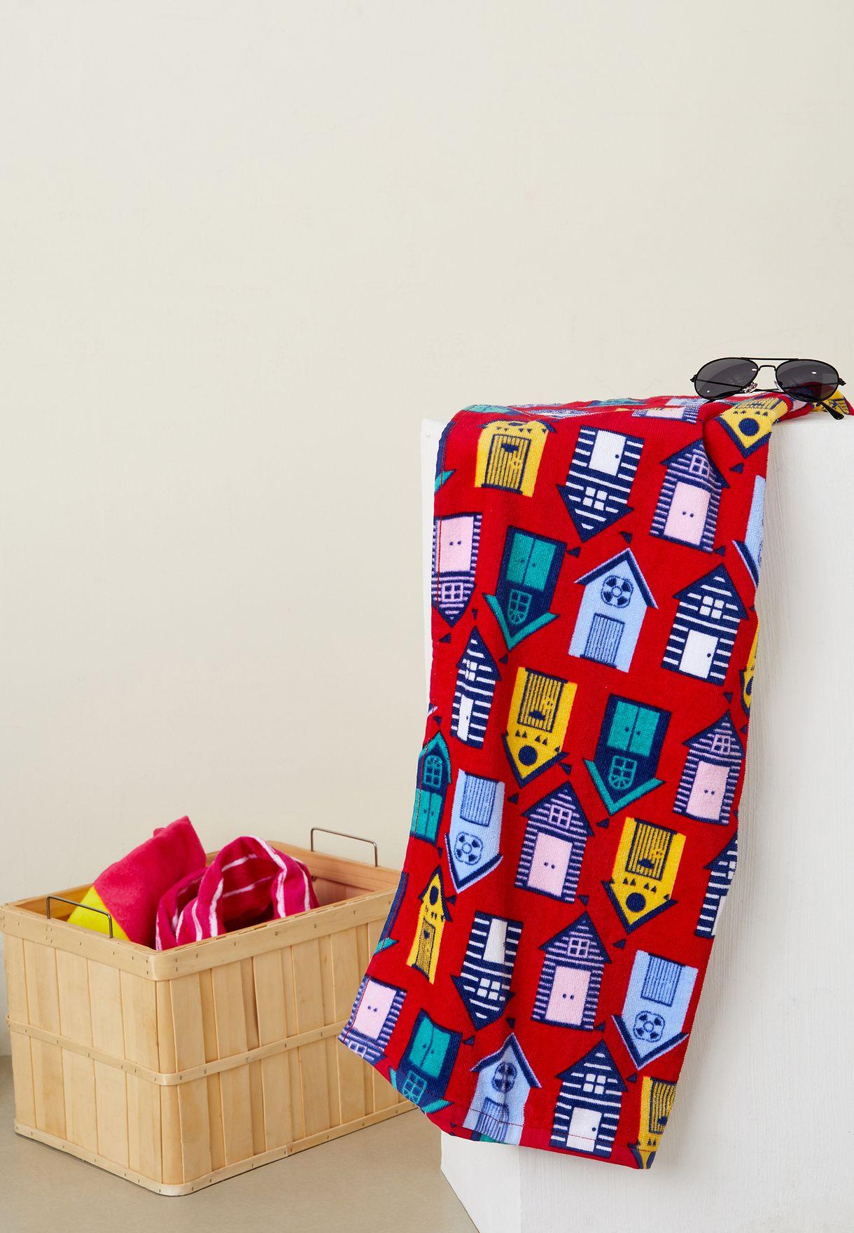 Kids Printed Bath Towel