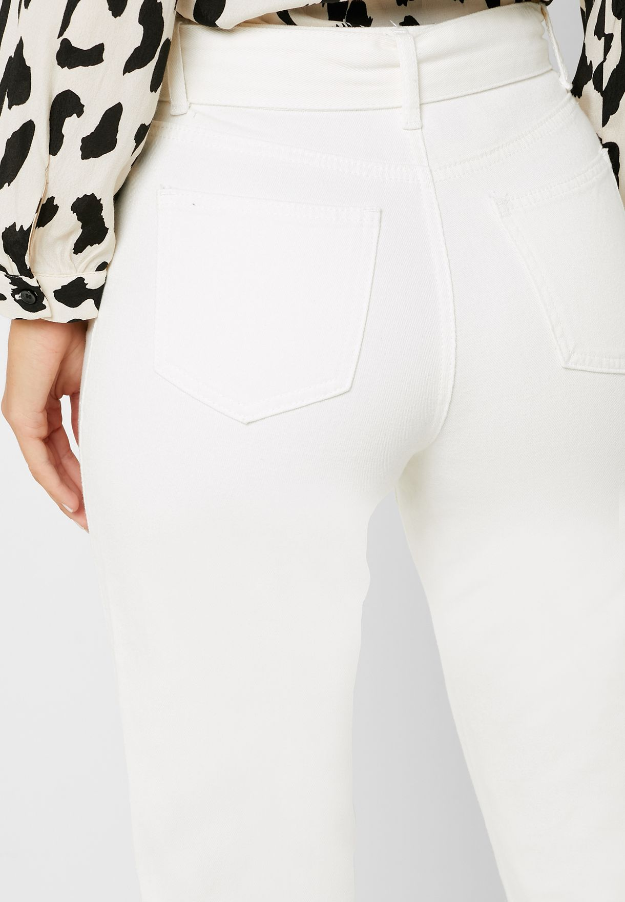 Riot Belted Skinny Jeans
