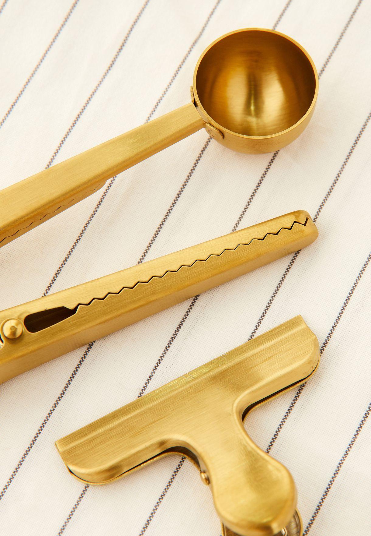Brass Clip Set