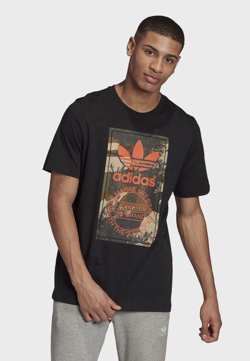 Camo Tongue T-Shirt