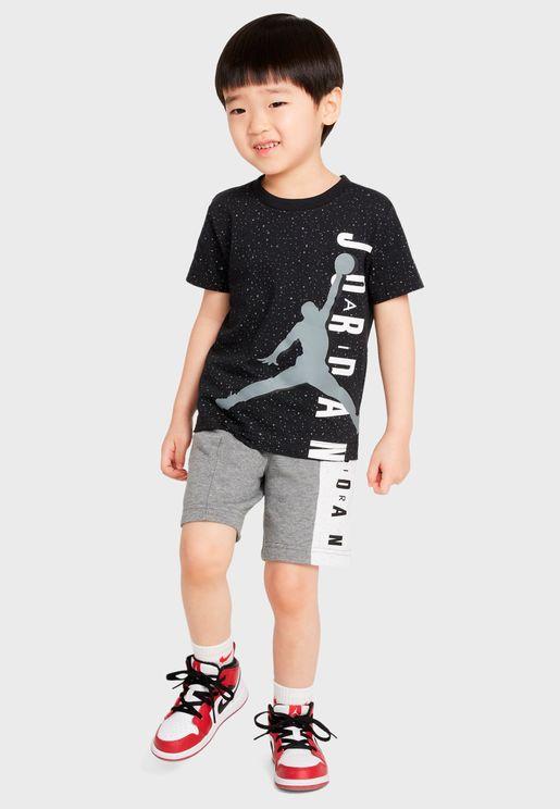 Infant Jordan Big Vert Set