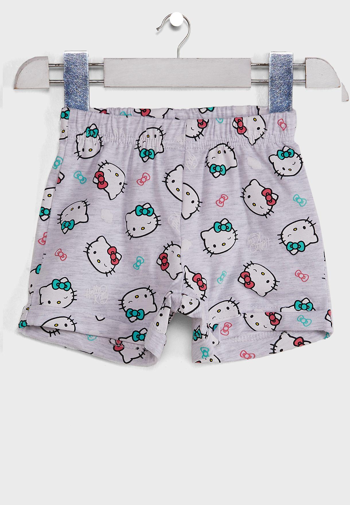 Infant Hello Kitty Top + Shorts Set