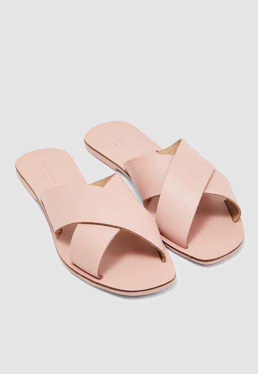 Chara Cross Strap Sandal
