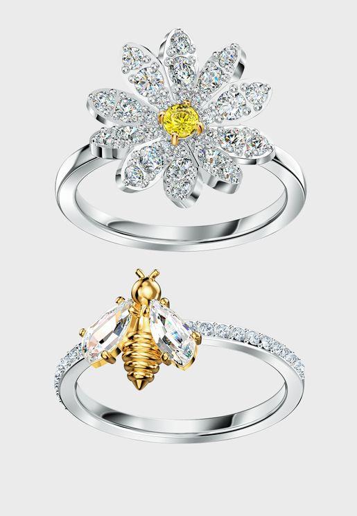 Eternal Flower Ring Set