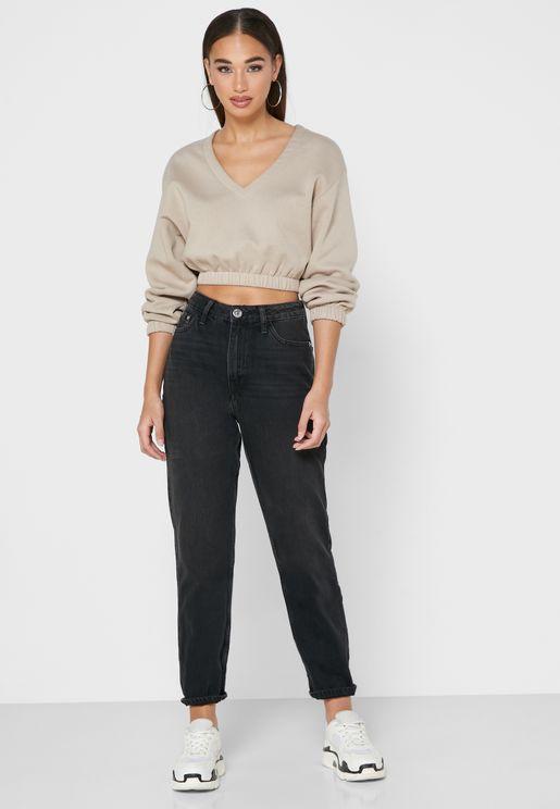 بنطال جينز موم