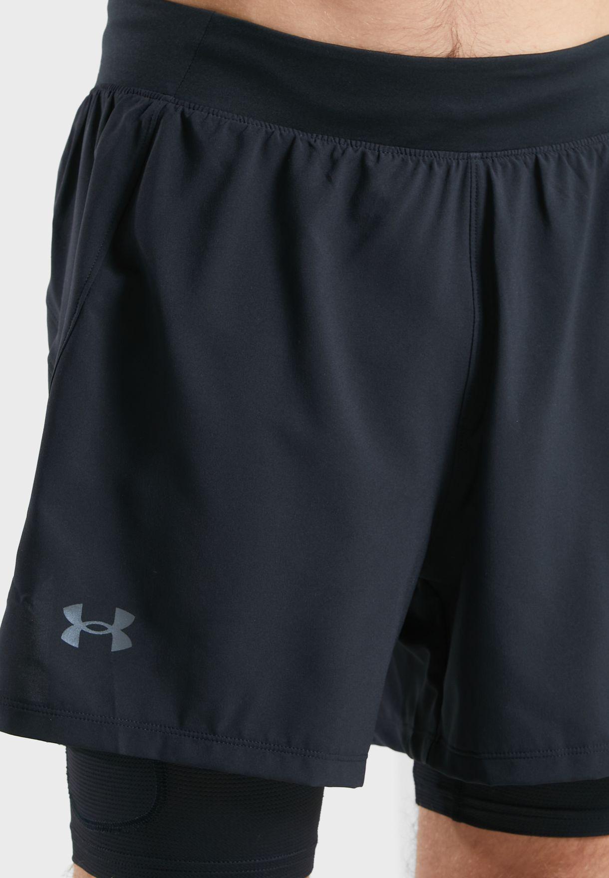 Iso-Chill Run 2In1 Shorts