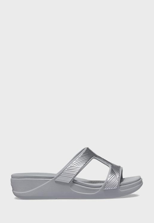 Monterey Metallic Sandal