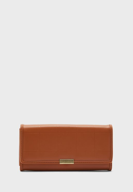 Quilted Longline Purse