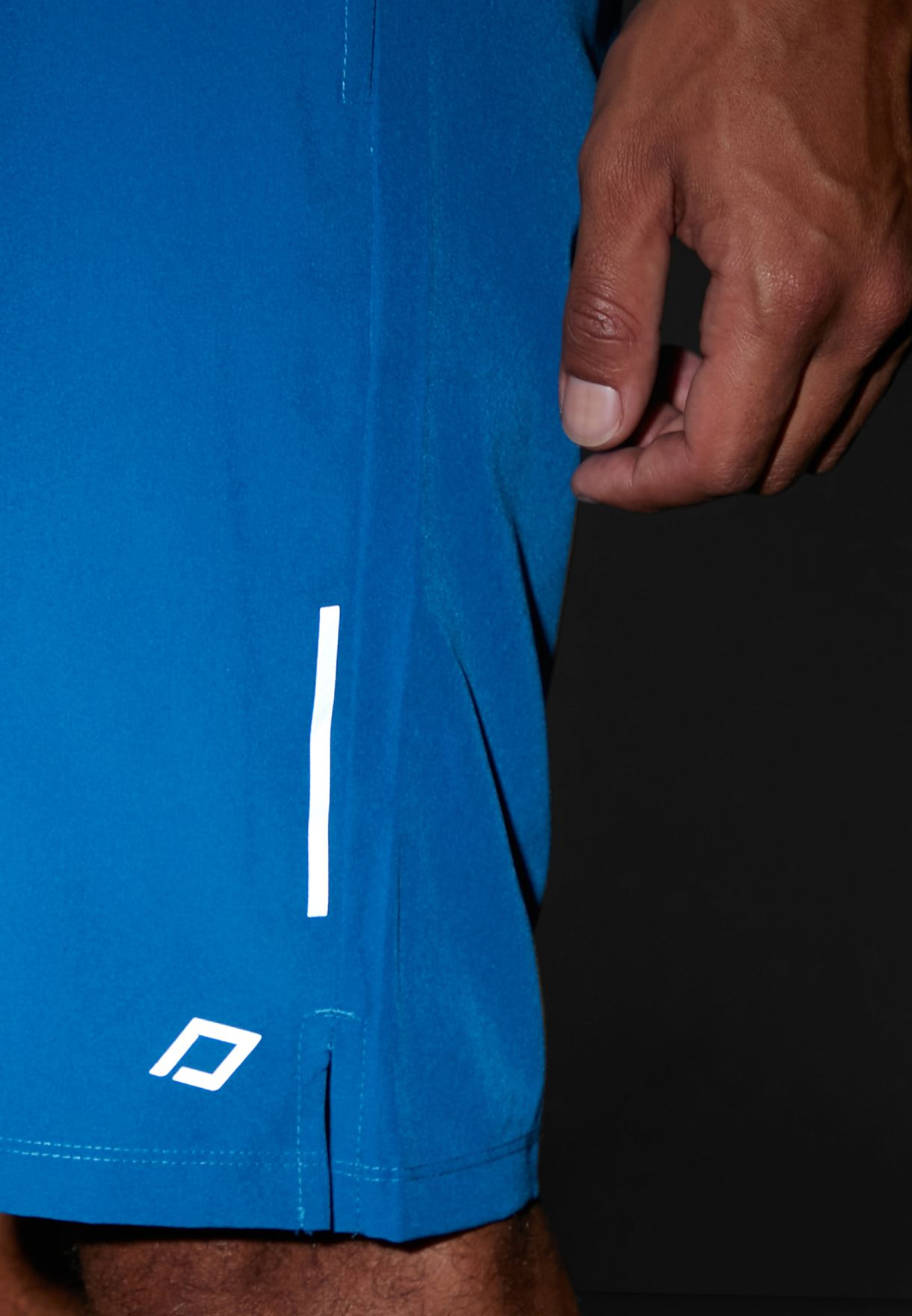 Training Short With Back Zip Pocket