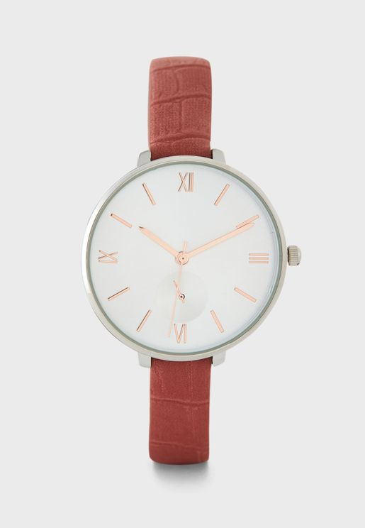 Minimal Subdial Detail Watch