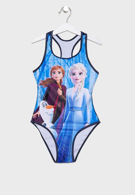 Kids Frozen Bodysuit