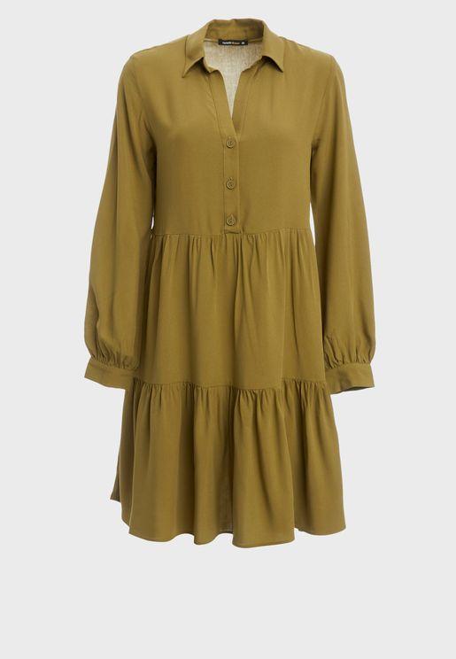 Tiered Hem Dress