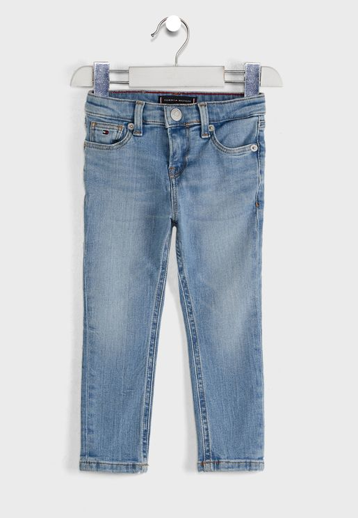 Kids Scanton Slim Faded Jeans