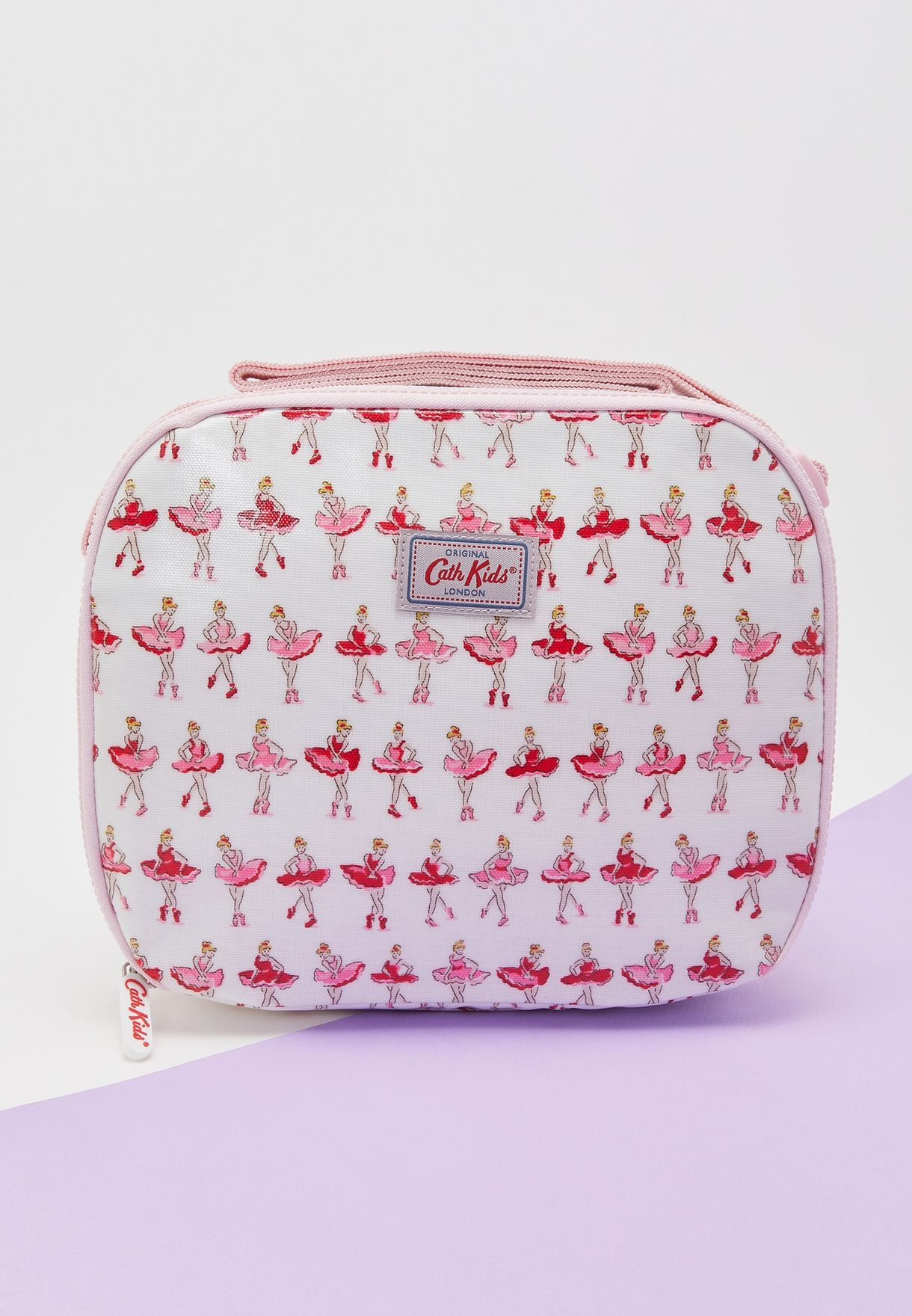 Ballerina Print Lined Lunch Bag