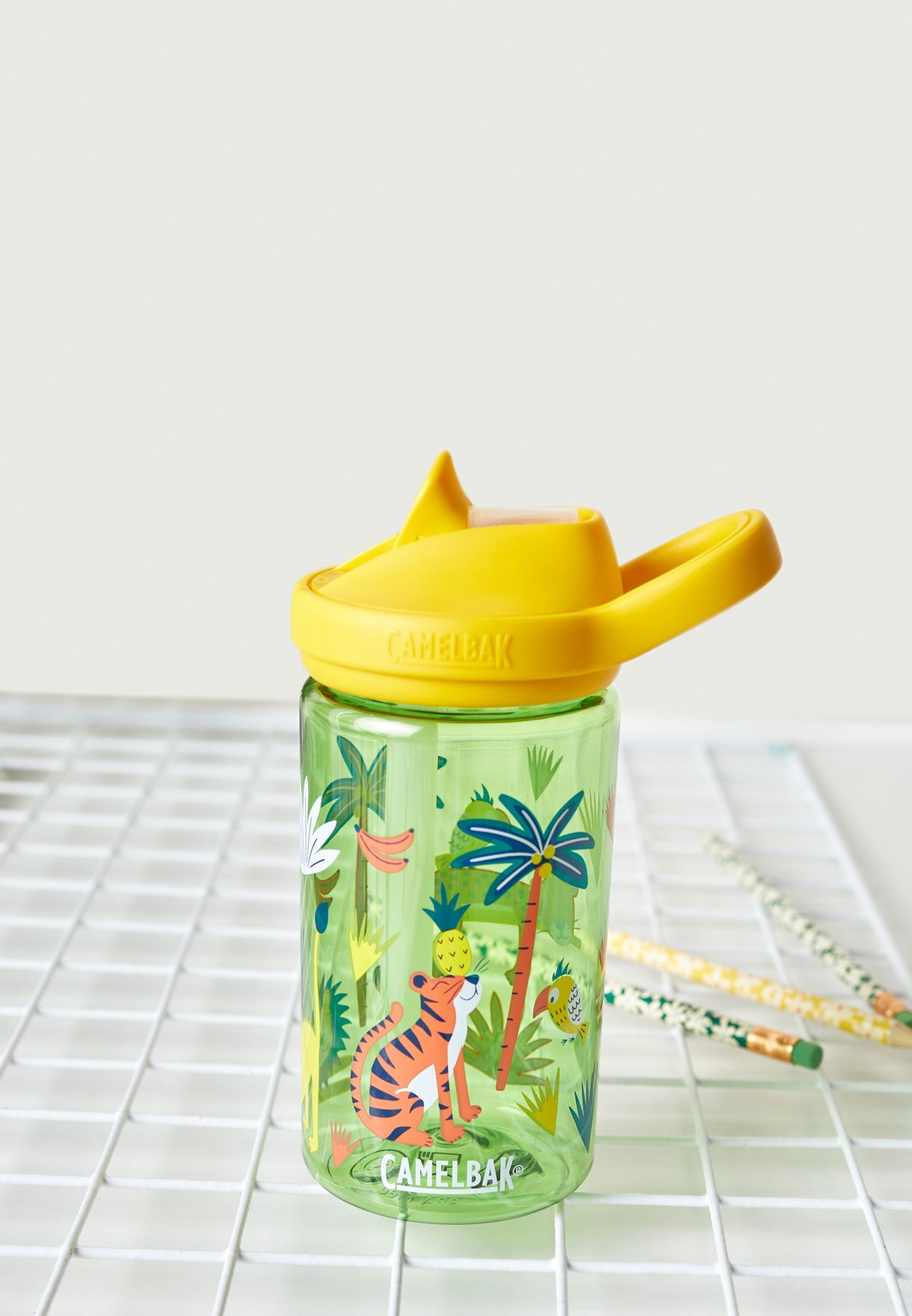 Eddy Jungle Animals Water Bottle - 415ML
