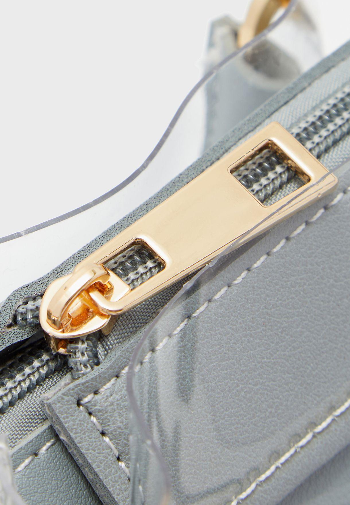 Clear Top Handle Handbag