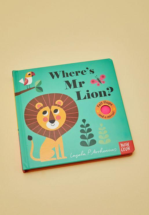 """كتاب"""" Where'S Mr Lion"""" (أين السيد الأسد)"""