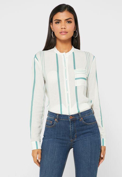 Katey Striped Shirt