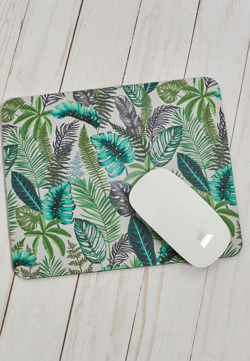 Fern Foliage Mouse Pad