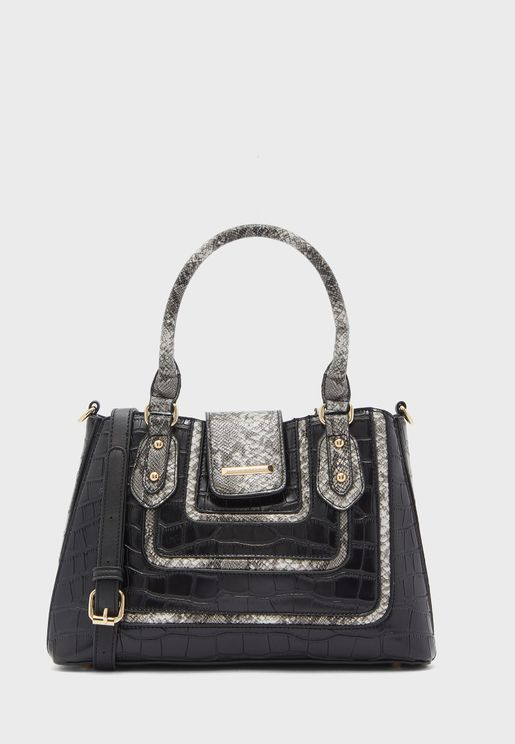 Logan Quilted Flap Crossbody